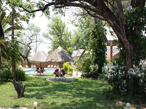 Garden of Zambesi River Hotel