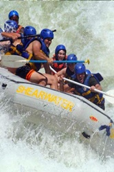 Low water rafting