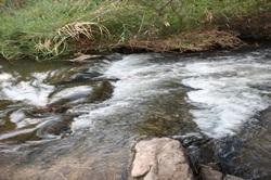 Popa Falls in Zambesi REgion halfway between Rundu and Katima Mulilo