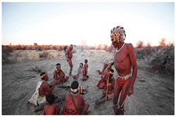 San Bushmen near Windhoek