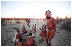 San Bushmen near Windhoek