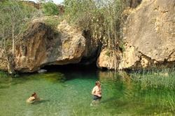 Ongongo hot water falls