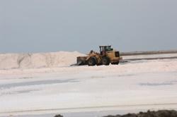 Salt Works near Walvis Bay