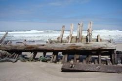 Shipwreck in Skeleton Coast Park